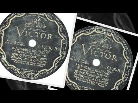 Polish 78rpm recordings, 1929. VICTOR V-16136. Karolcia go nie chciała (Karoltsia did not want him)