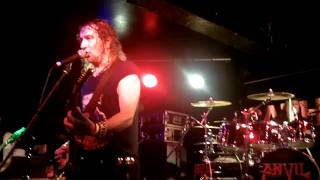 ANVIL, Jackhammer, Glasgow 23/06/11