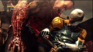 MGR:Cyborg Ninja vs Final Boss