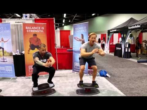 IDEA World 2014 StrongBoard balance fitness