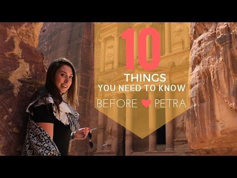 Video 10 THINGS TO KNOW BEFORE VISITING PETRA | JORDAN