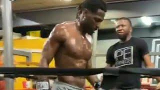 (Full Video)Antonio Brown in training camp preparing for his upcoming fight against Logan Paul