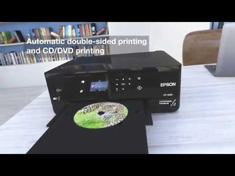The Epson Expression Premium XP-640 printer