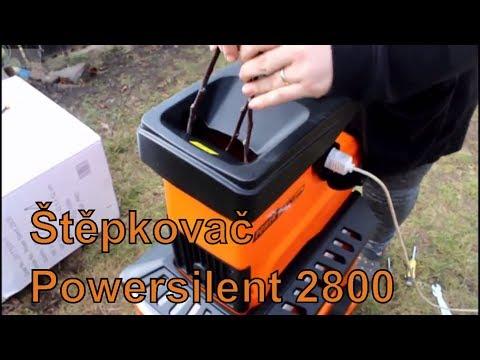 Štěpkovač Powersilent 2800