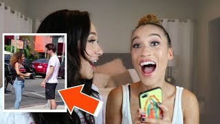 ROOMMATE DOES MY MAKEUP (DYLAN CALLS ME!!!)