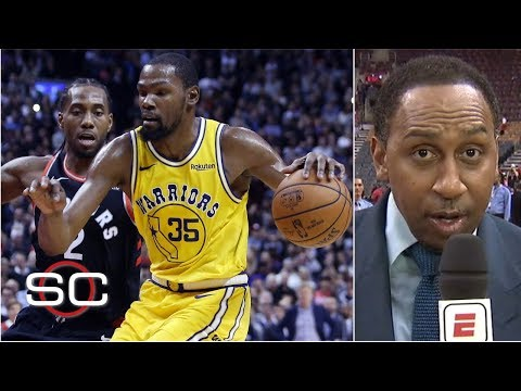 Stephen A. Smith had to 'give Golden State the edge' vs. Raptors in the NBA Finals | SportsCenter