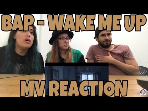 AKA REACTS! BAP - WAKE ME UP MV Reaction