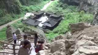 Video : China : The Three Natural Bridges 天生三桥 of WuLong County, ChongQing