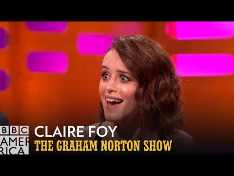 Claire Foy Refuses To Spill Her Crown Successor - The Graham Norton Show