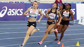 Miramas 2021 : Finale 400 m F (Amandine Brossier en 52''74)