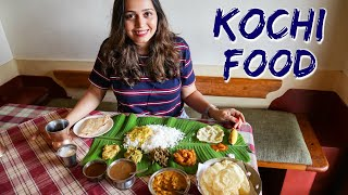 Exploring Kochi Food - Kerala Sadya, Banana Chips, Fort Kochi places to visit
