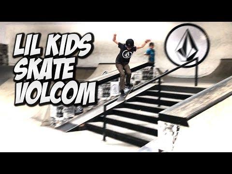 LIL GUYS SKATE VOLCOM & MUCH MORE !!! - NKA VIDS -