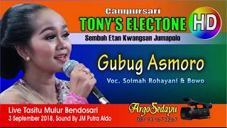GUBUG ASMORO (HD) Tony's Electone Live Mulur Bendosari