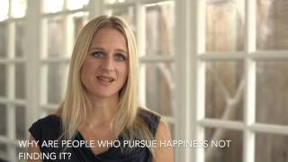 Emma Seppälä, Ph.D, Author of The Happiness Track on What Brings Us Happiness