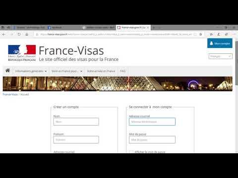 Créer un compte TLScontact & fixer un rendez-vous pour avoir un visa