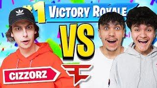 FaZe Jarvis & FaZe Kay Vs FaZe Cizzorz (Fortnite 1v1 Creative DeathRun)