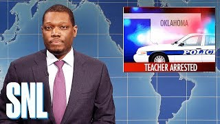 Weekend Update on Oklahoma Teacher's Arrest - SNL - Video Youtube