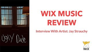 Selling Music on Wix - Wix Music App Review and Interview with Jay Strauchy