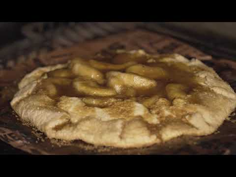 Caramel Apple Cheesecake Galette with Diva Q Step 10