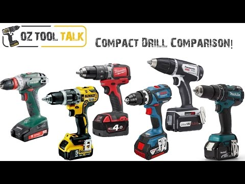 Compact 18V Drill Shootout – Dewalt, Milwaukee, Bosch, Makita, Metabo & Panasonic