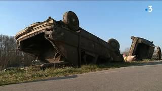Sens : une vingtaine de voitures repêchées dans l'Yonne