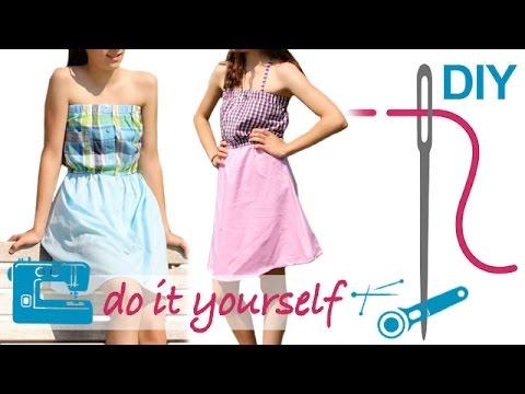 DIY Upcycling – Nähe ein Sommerkleid aus einem Hemd