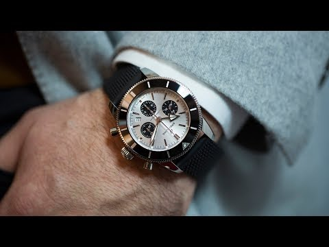 First Take: The Breitling Superocean Heritage II B01 Chronograph 44