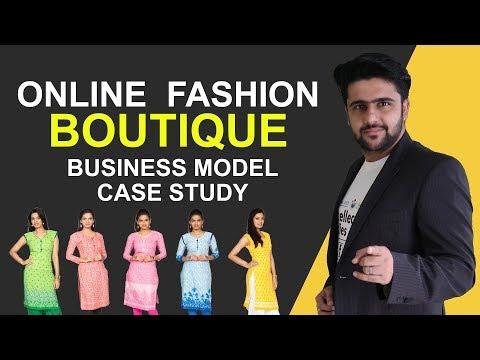 Online Boutique Business Model | Case Study