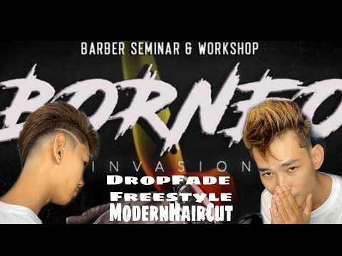 DropFade freestyle | Andis Barber Seminar & WorkShop Kuching Sarawak 2,3/Dec/2019