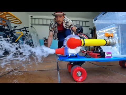 Creating a Water Powered Skateboard