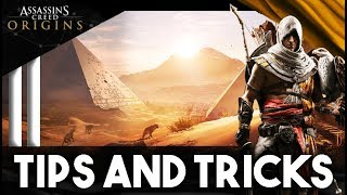 Assassins Creed Origins TIPS and TRICKS - Top Tips Every Player Should Know
