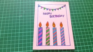 Happy Birthday Cards For Friends Handmade