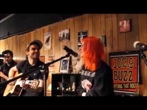 Hayley Williams and Taylor York- Heartbeats