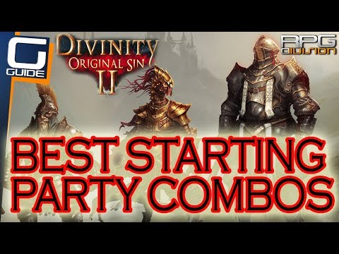 DIVINITY ORIGINAL SIN 2 - Ultimate Starting Party Combinations