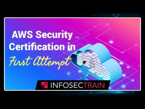 Learn How to Master AWS Security Certification in First Attempt ...