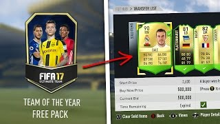 TURN 5K INTO 500K EASY TRICK!! 🤑🤑 (FIFA 17 TOTY)