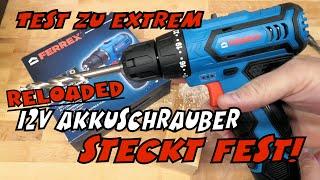 Im Härtetest: Aldi - Ferrex 12V Akku-Bohrschrauber