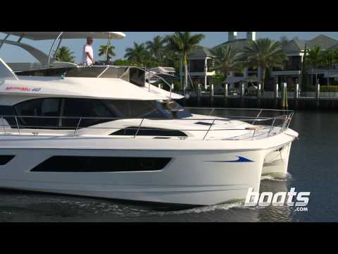 Aquila 44 Power Catamaran Boat Review from Boats.com