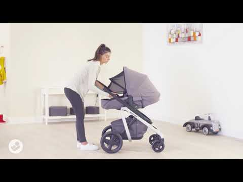 Lila Stroller:  How to Use The Integrated Nap keeper