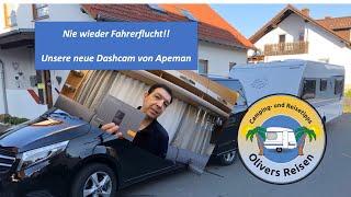 Nie wieder Fahrerflucht ! Unsere neue Dashcam von Apeman C550