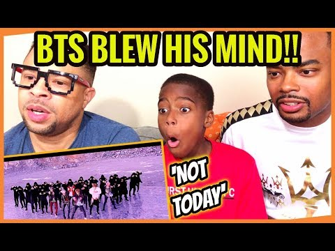 My Nephew INSPIRED By BTS | BTS 'NOT TODAY' MV and DANCE PRACTICE REACTION / REVIEW