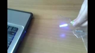 Светлячки для рыбалки на батарейках своими руками