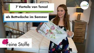 7 Vorteile von Tencel | Sommerbettwäsche
