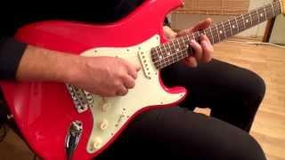 Pickup Selections on Mark Knopfler Artist Series Stratocaster