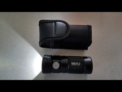 ThruNite TN4A (XP-L) Max 1150 Lumen Flashlight REVIEW