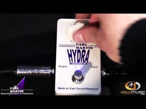CARL MARTIN Hydra Boost Kytarový efekt