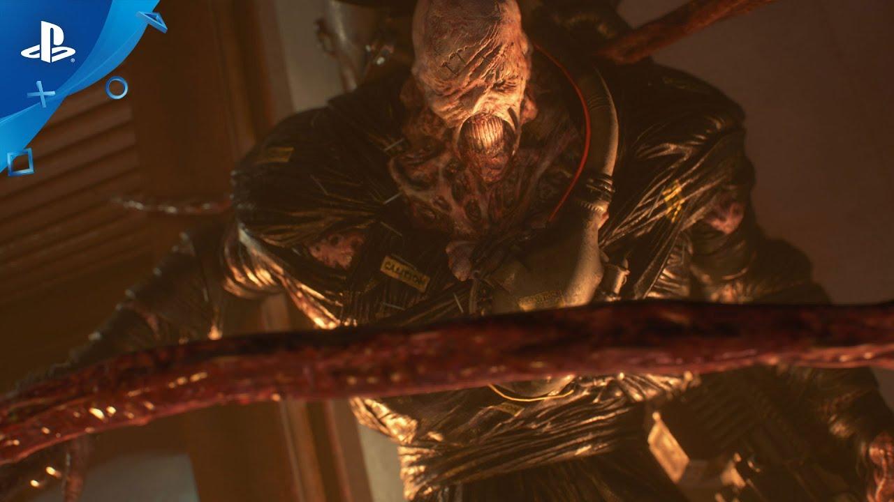 Novo Trailer de Resident Evil 3 Traz a Transformação Monstruosa de Nemesis