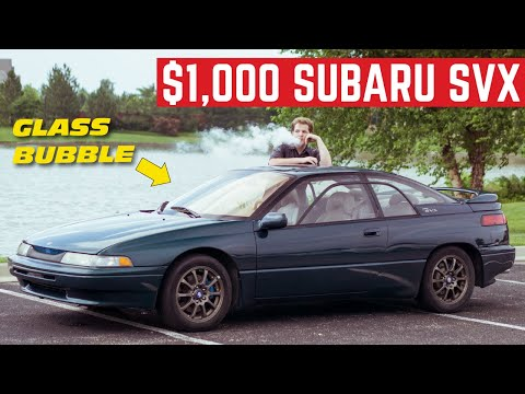 I BOUGHT The Weirdest SUBARU Ever For $1,000 *Subaru SVX*
