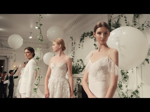 , title : 'Inside Monique Lhuillier's Fall 2018 Bridal Collection | Unveiled | Martha Stewart Weddings'
