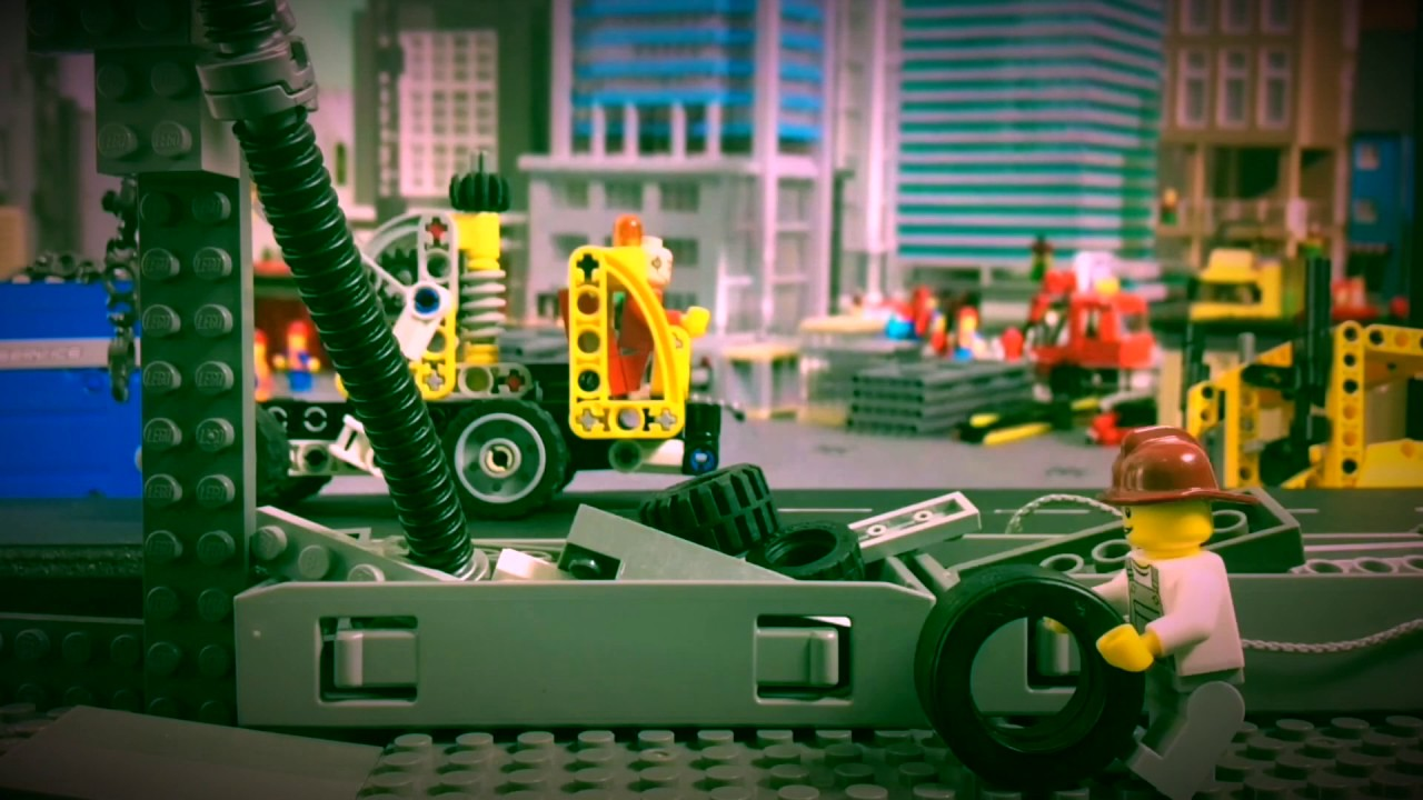 Ace Brickman - Cap#1 - Lego Movie  - Stop Motion Lego Animation